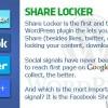 Plugin share locker wordprees
