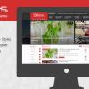 Theme tin tức Snews đẹp cho các bạn làm bằng blogspot