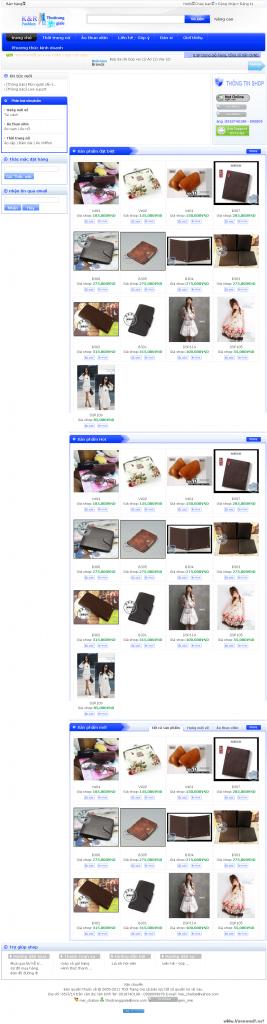 Code shop thời trang