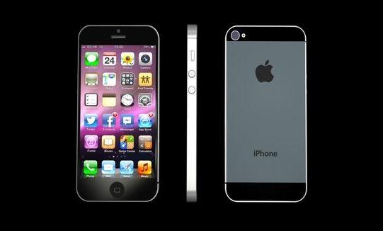 hình ảnh iphone 5 chính thức năm 2012