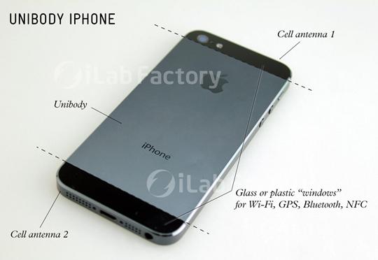 Kết cấu của iphone 5