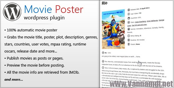 movie poster wordpress plugins
