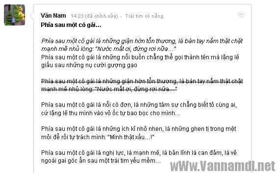 cach viet chu in dam in nghien gach gang tren google+