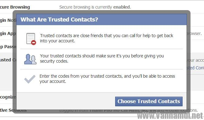 cach lay tai khoan facebook bang trusted contact 4
