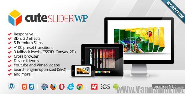 cute slider 3d plugin wordpress