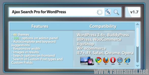 ajax search pro wordpress