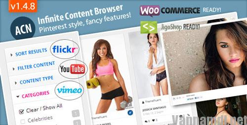 Ajax Content Browser for WordPress