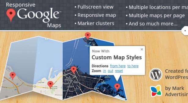 Plugin responsive Google Maps v1.1.3