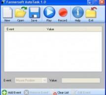 Lặp lại các thao tác của chuột hoặc bàn phím với farmersoft autotask