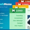 Mashmenu – WordPress Easy Mega Menu Plugin free