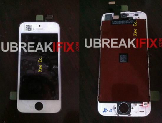 Lộ hình ảnh iphone 5 màu trắng