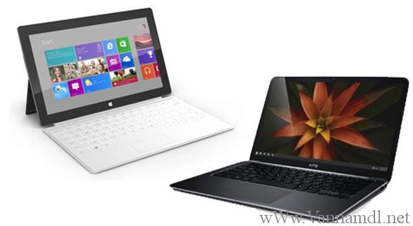 Phân biệt windows 8 pro và windows RT