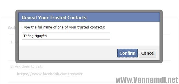 cach lay tai khoan facebook bang trusted contact 11