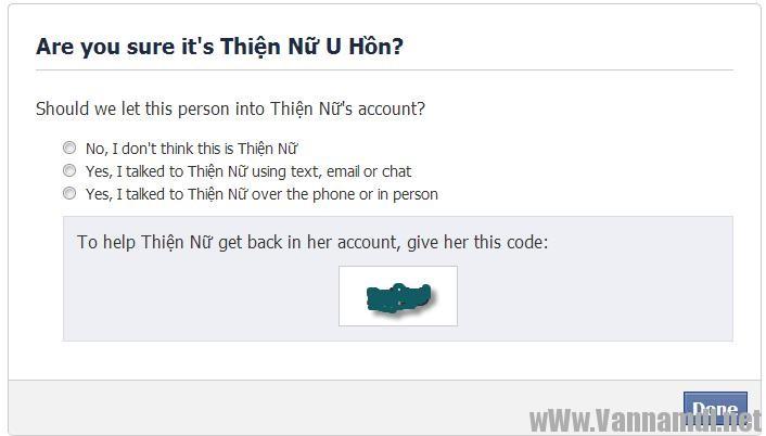 cach lay tai khoan facebook bang trusted contact 13