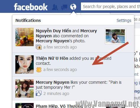 cach lay tai khoan facebook bang trusted contact 6
