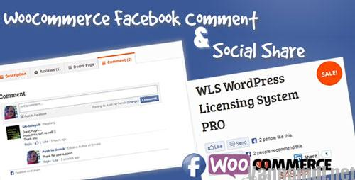 facebook comment social share